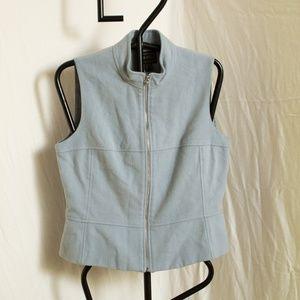 Vintage Louben Wool/Cashmere Zip Vest Size 10
